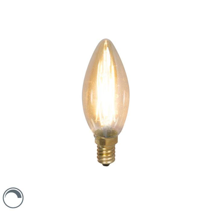 Lampă-cu-lumânare-cu-filament-LED-E14-240V-3.5W-200lm-reglabilă