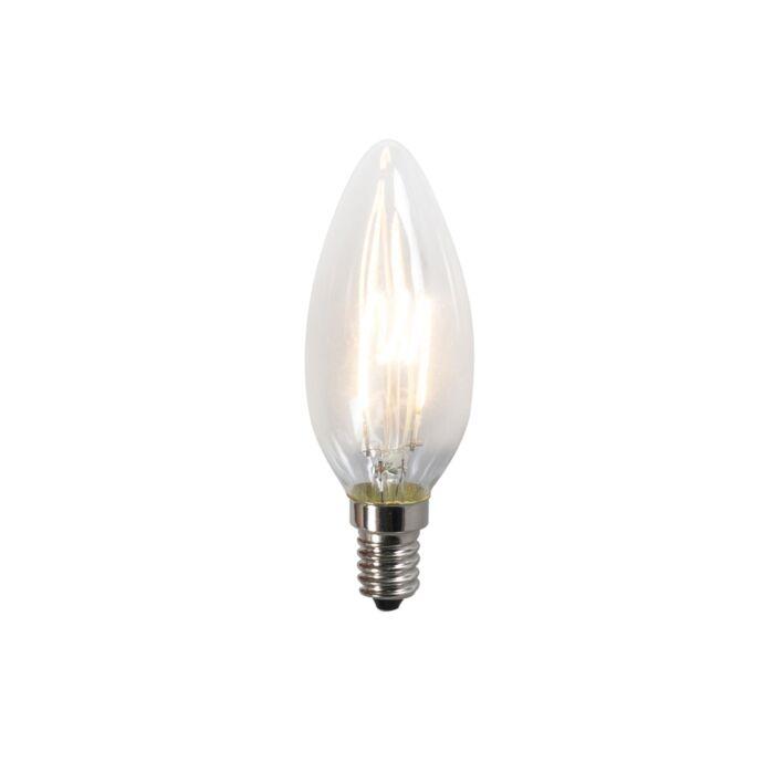 Lampă-LED-cu-filament-răsucit-C35-2W-2200K-clar