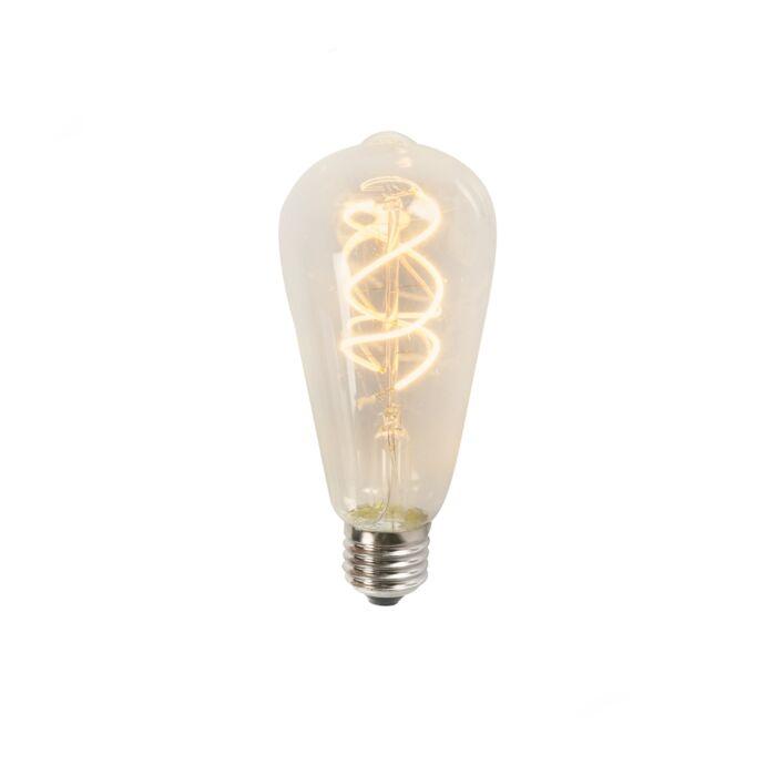 Filament-LED-răsucit-ST64-5W-2200K-clar