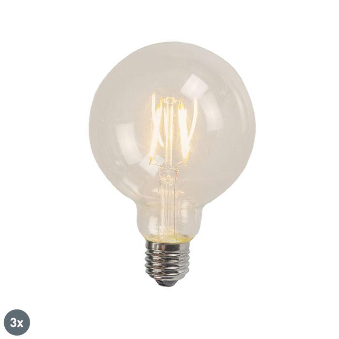 Set-de-3-filamente-LED-E27-G95-4W-320-lm-2700K