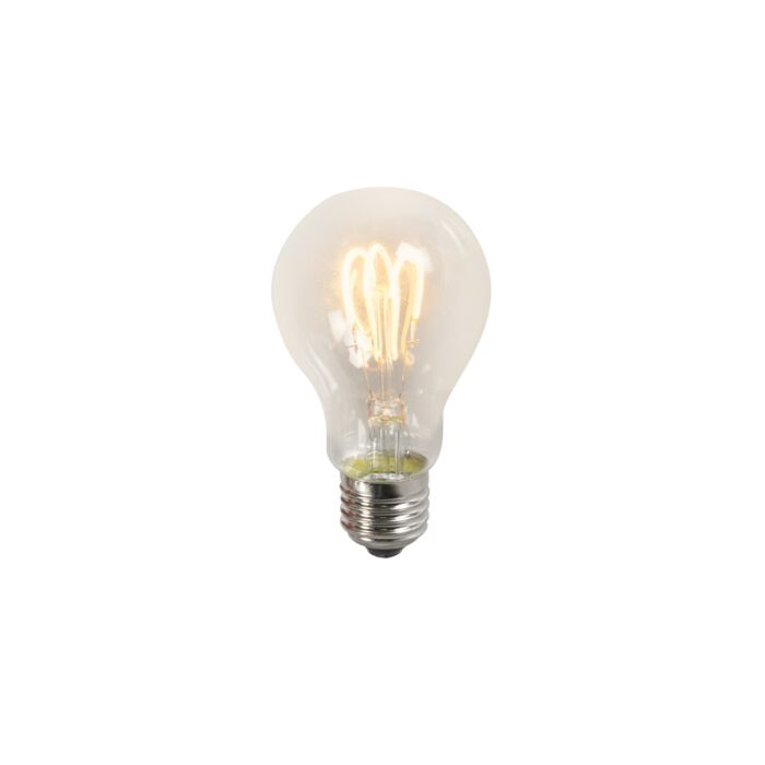 Lampă-LED-cu-filament-răsucit-A60-3W-2200K-clar