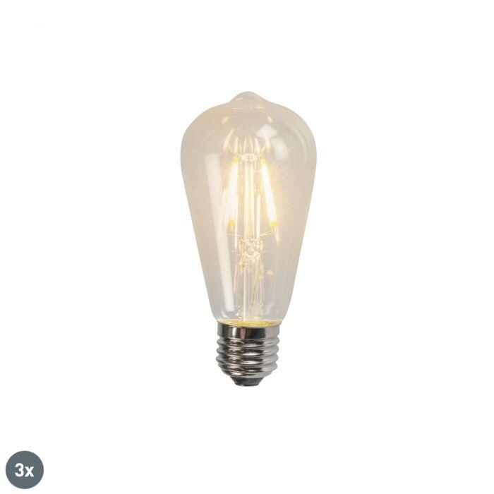 Set-de-3-lămpi-cu-filament-LED-E27-ST64-4W-470LM-2700K