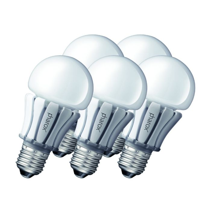 Set-de-5-lămpi-LED-Pharox-400-E27-8W-230V