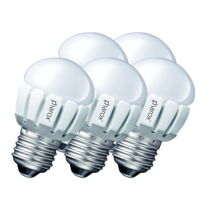 Set-de-5-Pharox-LED-200-P45-E27-5W-230V