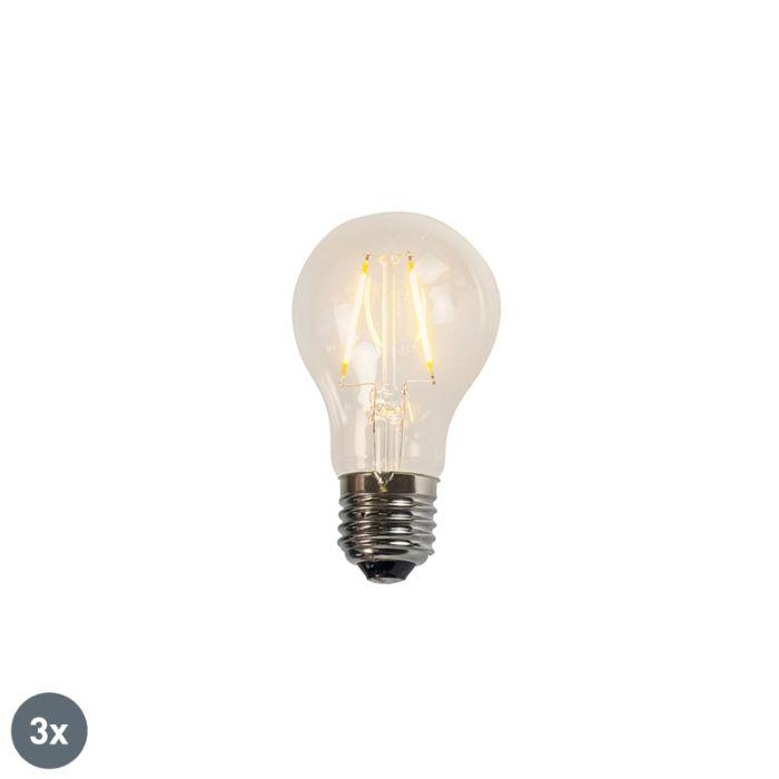 Set-de-3-lămpi-cu-filament-LED-A60-2W-2200K-clar