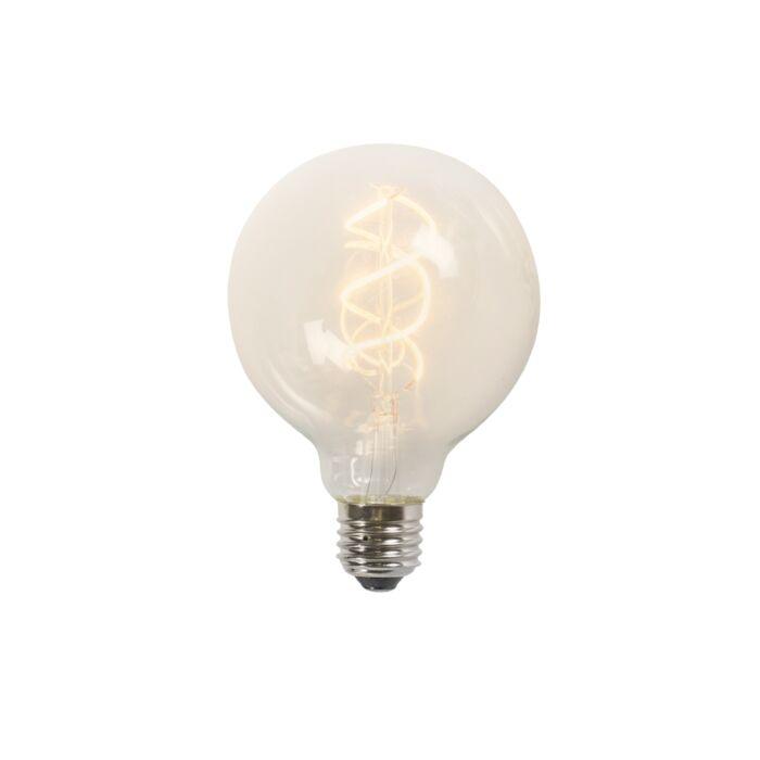 Lampă-LED-cu-filament-răsucit-G95-5W-2200K-clar