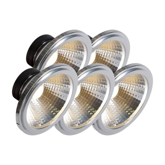 AR111-lampă-LED-COB-7W-24-°-set-de-5