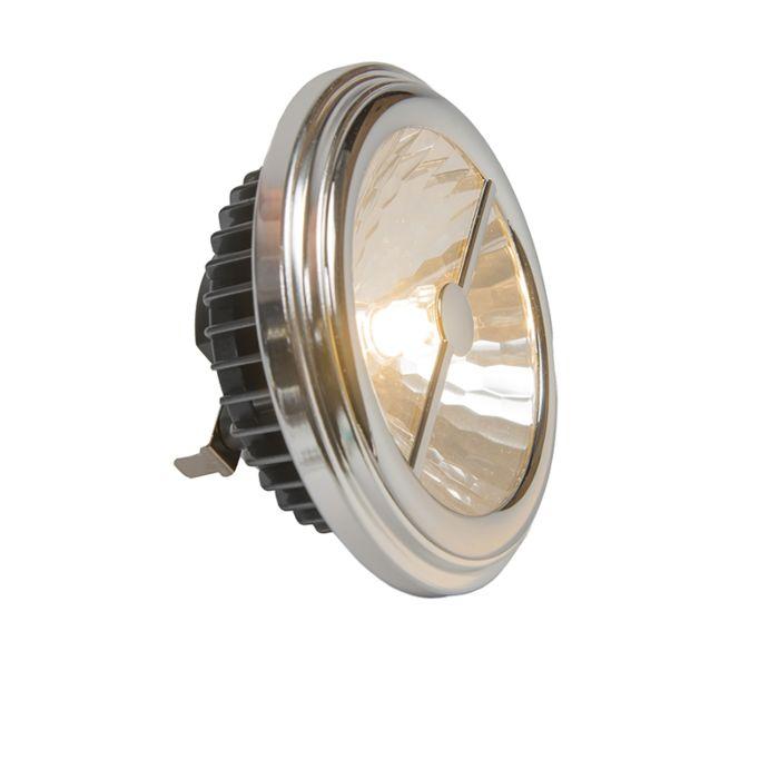 Reflector-AR111-G53-15W-24-°-alb-cald