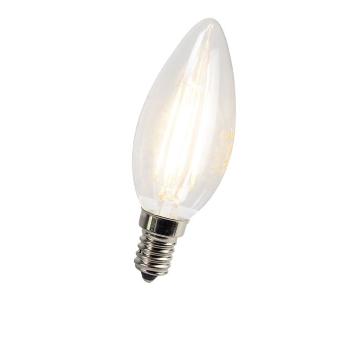 Lampă-cu-lumânare-cu-filament-LED-E14-3W-300-lumeni