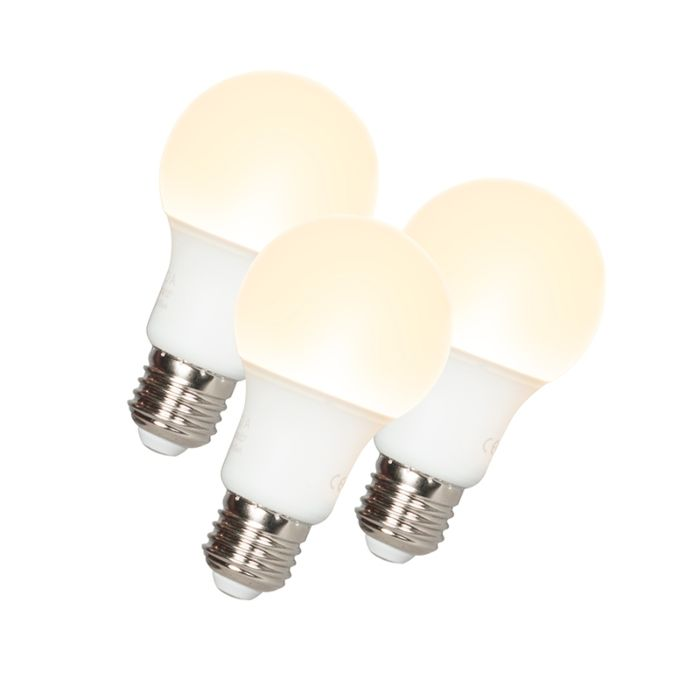 Set-de-3-lămpi-LED-A60-E27-9W-3000K