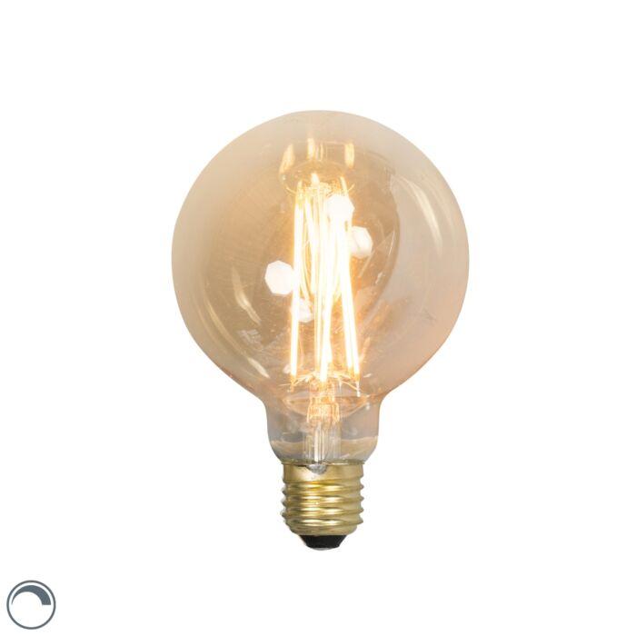 Lampă-cu-glob-lung-cu-filament-LED-E27-240V-4W-320lm-reglabilă