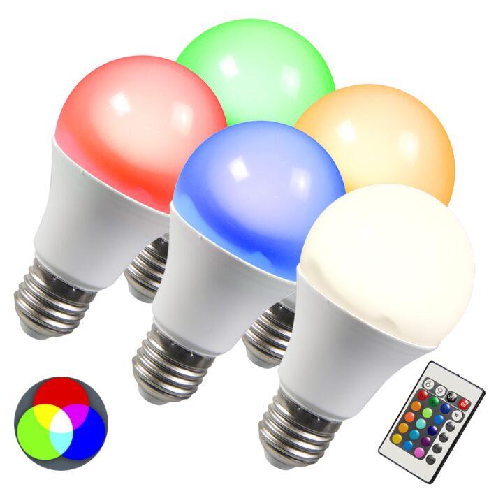 Bec-LED-RGB-E27-10W-set-de-5-alb-alb-cald