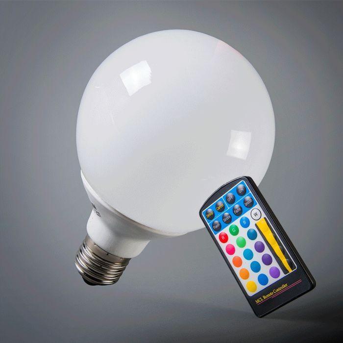 Glob-LED-E27-RGB-95mm-cu-telecomandă