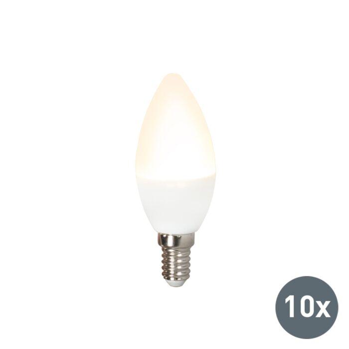 Set-de-10-becuri-LED-C37-E14-3W-3000K