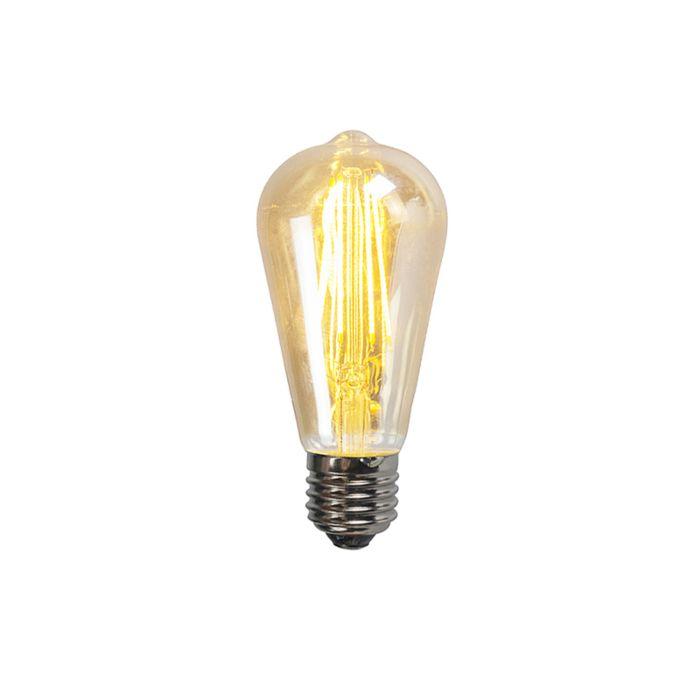 Set-de-3-lămpi-de-fum-cu-filament-cu-LED-E27-ST64-5W-450-lumen-2200K