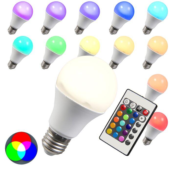 Bec-LED-RGB-E27-10W-alb-foarte-cald