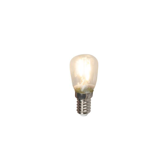 Lampă-cu-tablă-cu-filament-LED-E14-240V-1W-100lm-T26