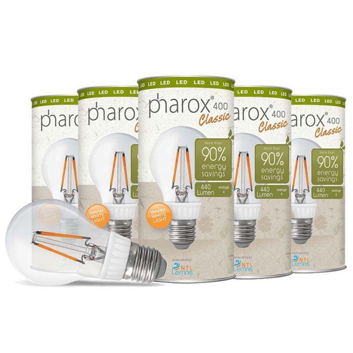 Lampă-LED-Pharox-400-Classic-E27-4W-set-de-5