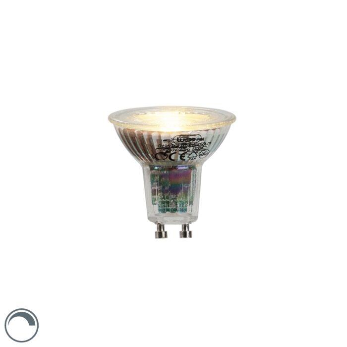 Lampă-LED-GU10-6W-450-lumen-2700K-reglabilă