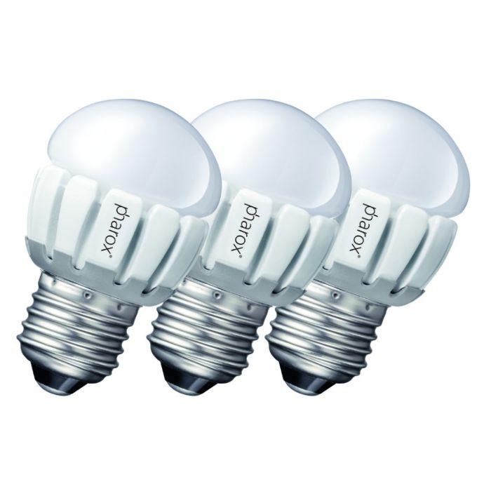 Set-de-3-Pharox-LED-200-P45-E27-5W-230V