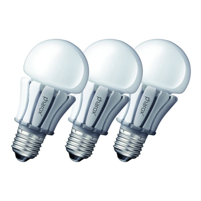 Set-de-3-lămpi-LED-Pharox-400-E27-8W-230V