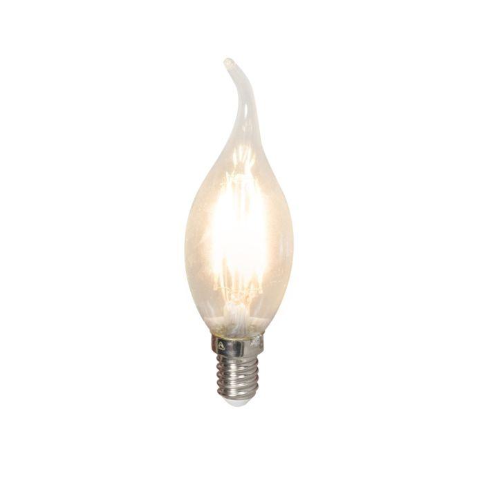 Lampă-cu-lumânare-cu-vârf-de-filament-LED-E14-240V-3.5W-350lm-BXS35-reglabilă