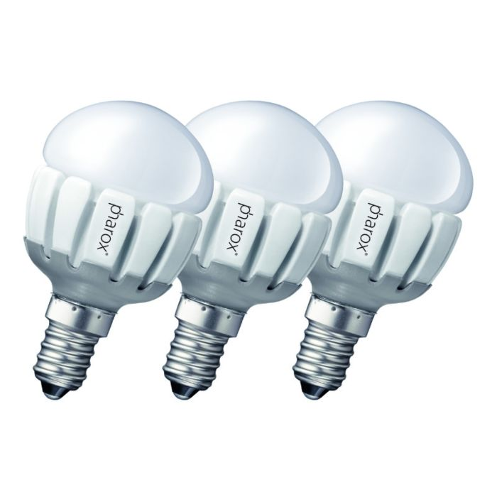 Set-de-3-Pharox-LED-200-P45-E14-5W-230V