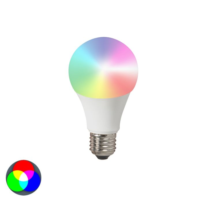 Lampă-LED-E27-240V-7W-500lm-A60-Smart-Light