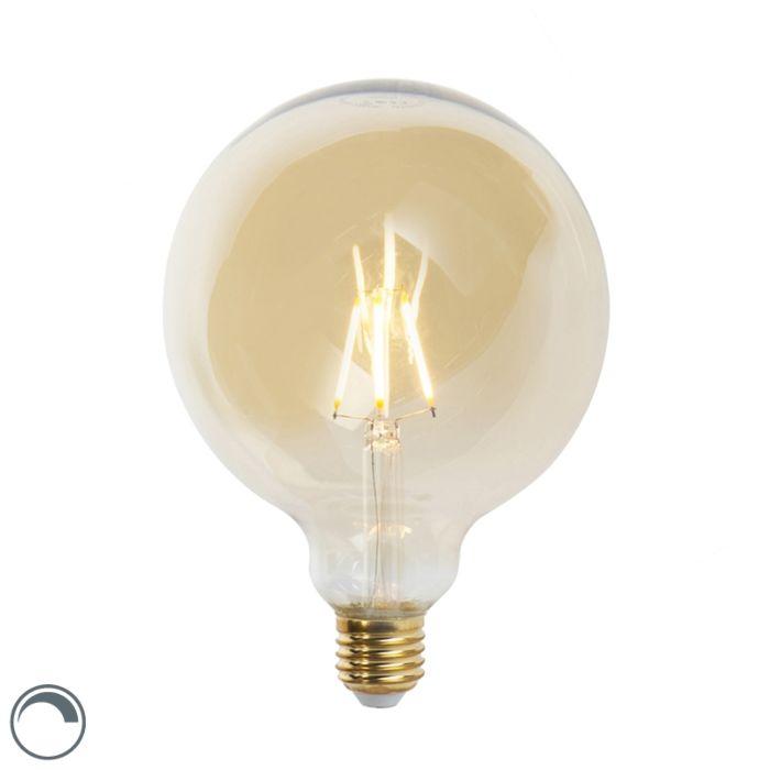 Lampă-cu-filament-cu-LED-E27-G125-goldline-360-lumen-2200K