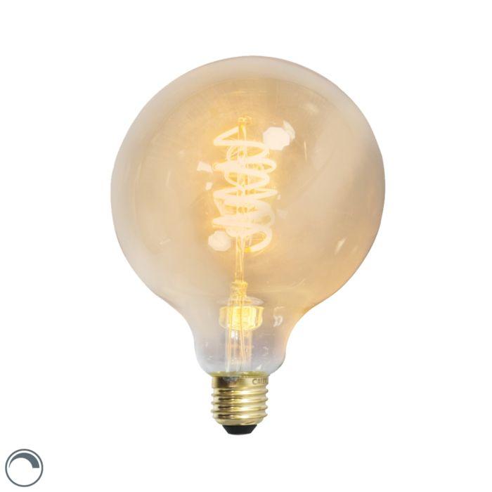 Lampă-cu-filament-răsucit-cu-LED-E27-240V-4W-200lm-reglabilă