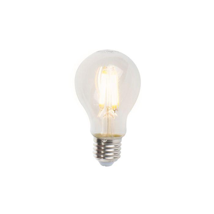 Set-de-5-lămpi-cu-filament-cu-LED-E27-reglabile-A60-7W-806lm-2700K