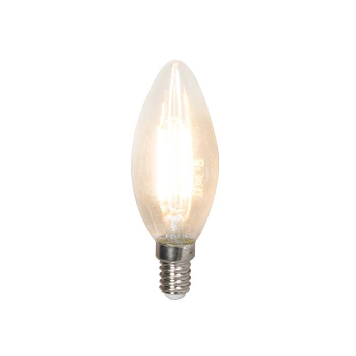 Set-de-3-lămpi-cu-lumânare-cu-filament-LED-E14-240V-3.5W-350lm-B35-reglabil