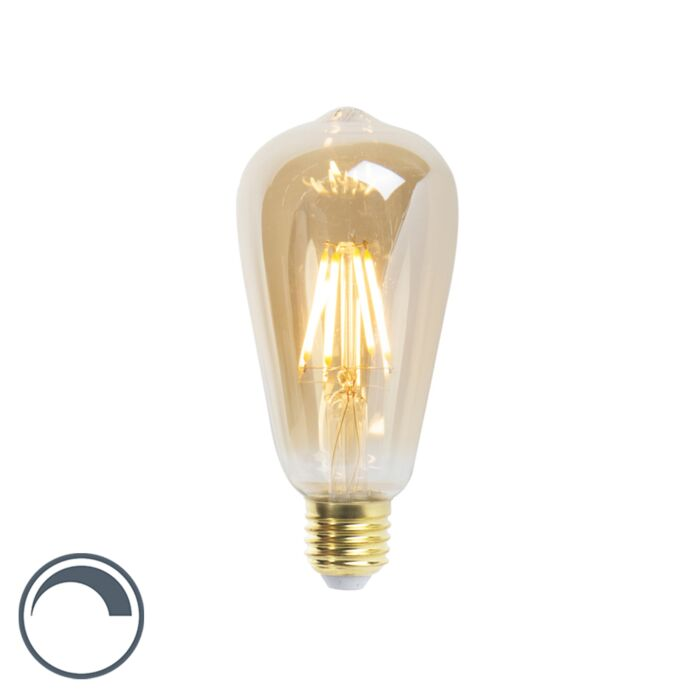 Lampă-cu-incandescență-LED-ST64-E27-5W-360-lumeni-2200K-reglabilă