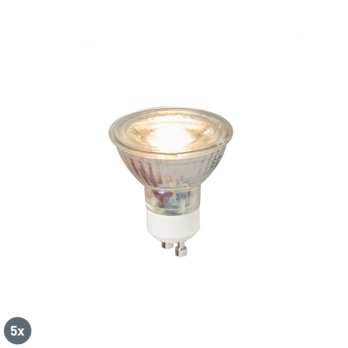 Set-5-lampi-LED-GU10-COB-5W-380LM-3000K