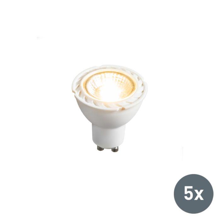 Set-de-5-lămpi-LED-GU10-240V-7W-2700K-reglabile