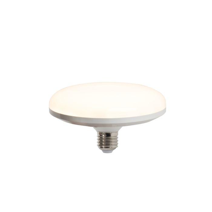 Lampă-LED-UFO-E27-18W-alb-cald