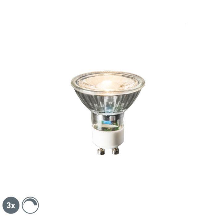 Set-de-3-lămpi-LED-GU10-6W-450-lumen-2700K-reglabile