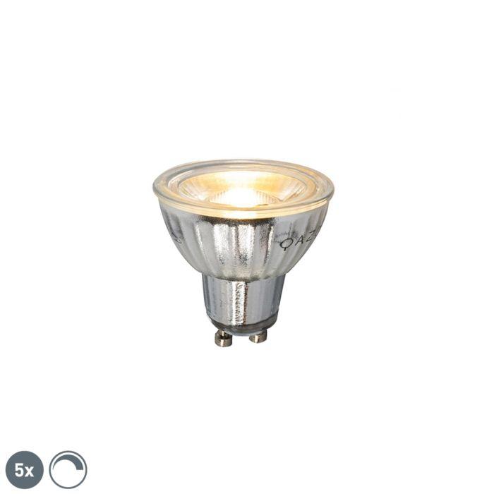 Set-de-5-lămpi-LED-reglabile-GU10-7W-500LM-2700K