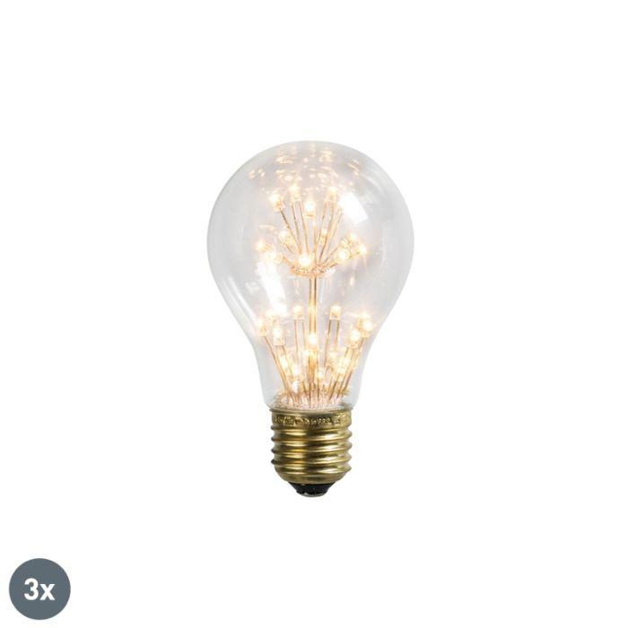 Set-de-3-lămpi-cu-LED-E27-1,5W-/-136LM