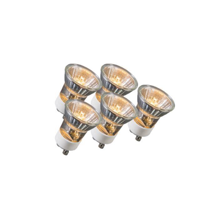 Set-de-5-lămpi-cu-halogen-GU10-35W-230V-35mm