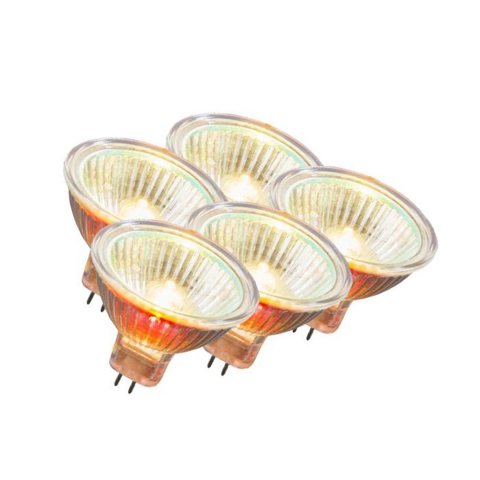 Set-de-5-halogeni-MR16-12V-20W