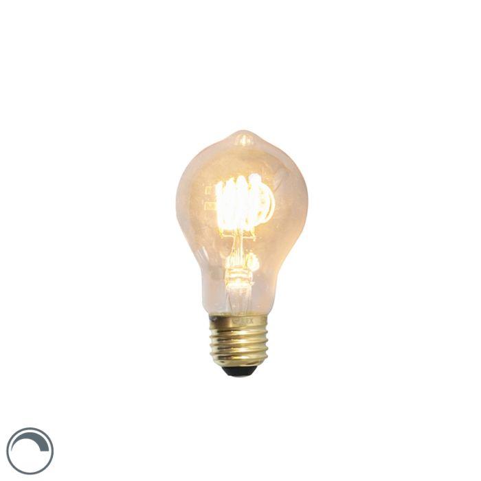 Lampă-cu-filament-răsucită-cu-LED-E27-240V-4W-200lm-reglabilă