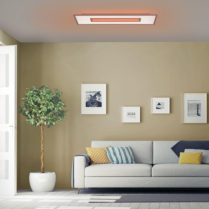 Plafoniera-de-design-alb-RGB-incl.-LED-100-cm---Placi