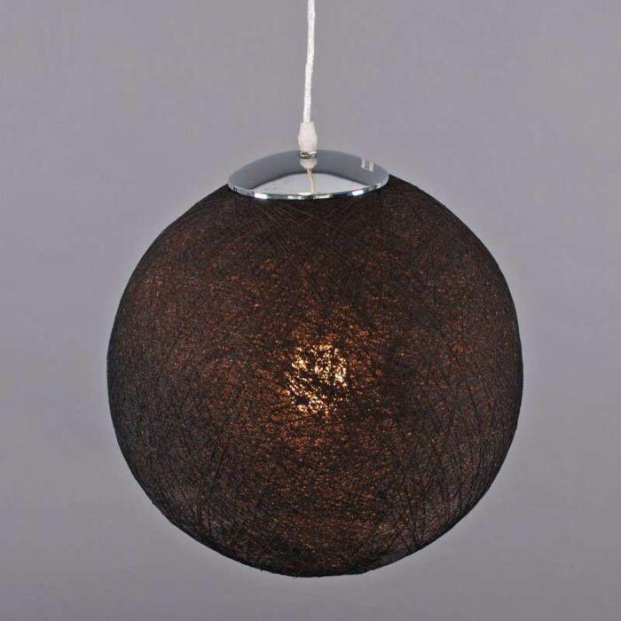 Lampă-suspendată-Hemp-35-negru