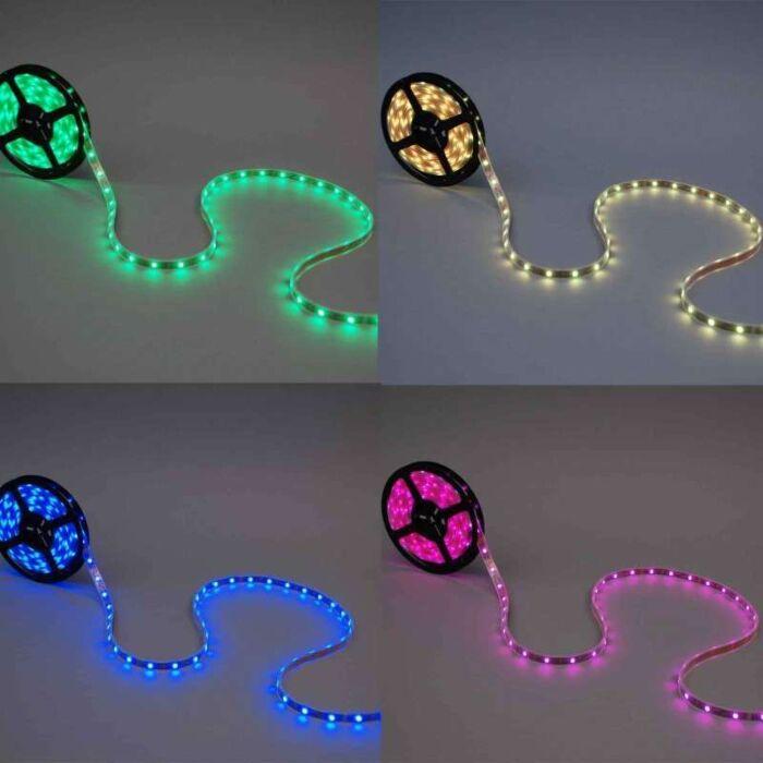 Bandă-flexibilă-LED-RGB-5-metri