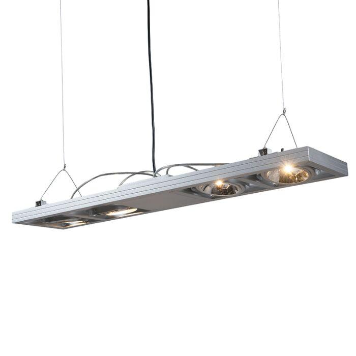 Lampă-suspendată-Kardan-4-aluminiu-lung