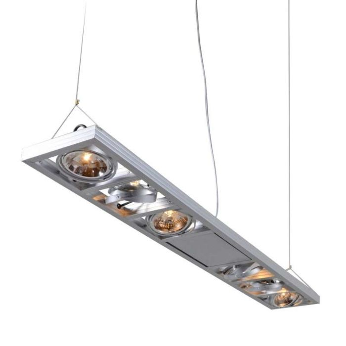 Lampă-suspendată-Kardan-6-aluminiu-lung
