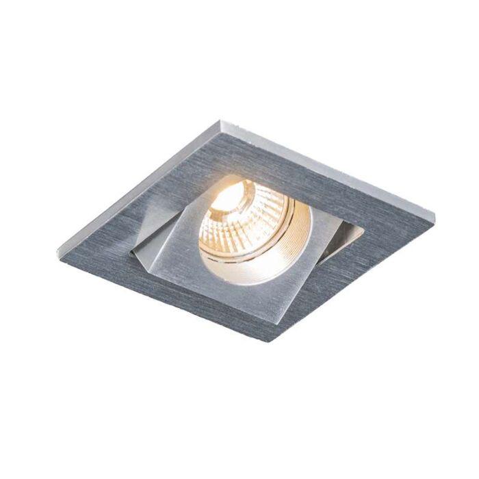 Spot-încastrat-LED-Quale-pătrat-din-aluminiu