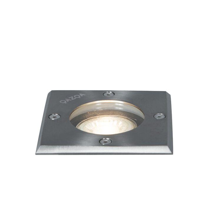Oțel-la-fața-solului-10,5-cm-IP65---pătrat-de-bază