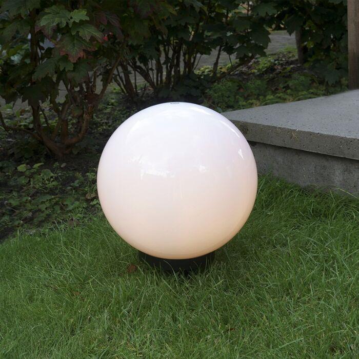 Lampă-modernă-de-exterior-cu-vârf-de-pământ-30-cm-IP44---Sphere